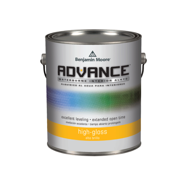 Benjamin moore advance waterborne interior alkyd high gloss 794 farby i dekoracje for Advance waterborne interior alkyd