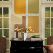 Color sample Aura Affinity tester koloru benjamin moore farby-dekoracje.pl