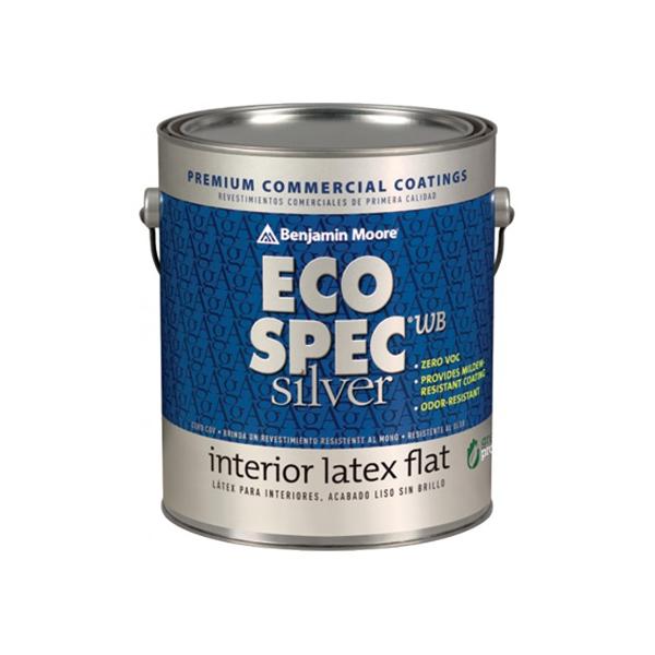 benjamin moore eco spec wb silver interior latex flat