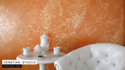 Venetian Stucco Pearl Effect